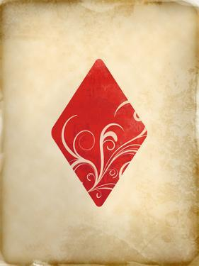 Playing Card Diamonds by Indigo Sage Design