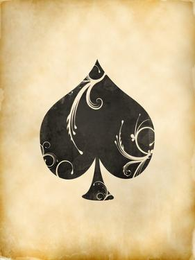 Playing Card Spades by Indigo Sage Design