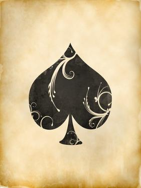 Playing Card Spades by Indigo Sage Design