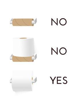 Toilet Paper by Indigo Sage Design