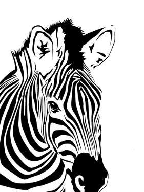Zebra by Indigo Sage Design