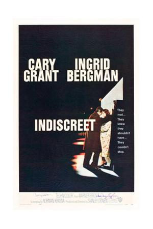 INDISCREET, from left: Cary Grant, Ingrid Bergman, 1958