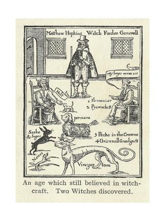 Matthew Hopkins, English Witch Hunter