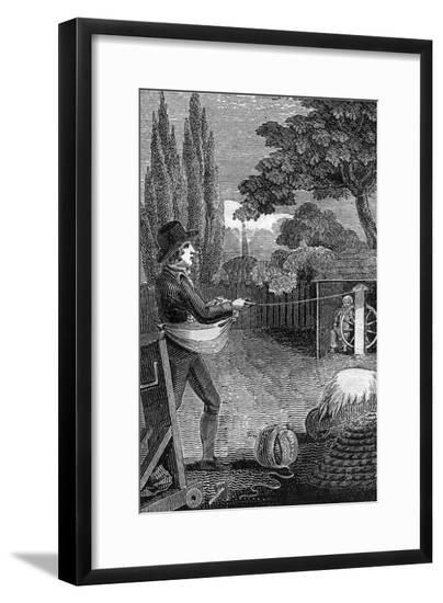 Industry, Rope 1827--Framed Giclee Print