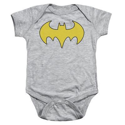 Infant:  Bat Girl Logo Onesie