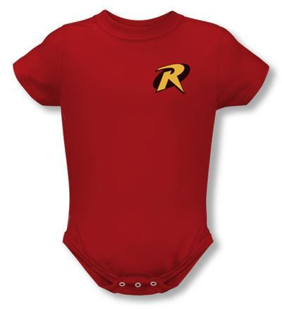 Infant: Batman - Robin Logo Onesie