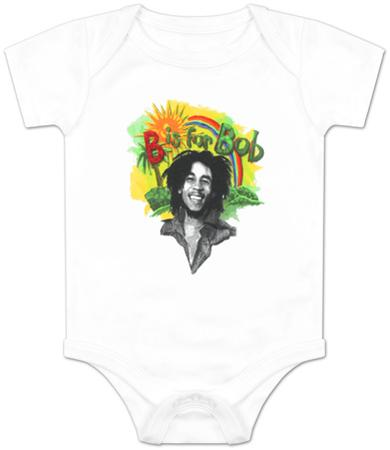 Infant: Bob Marley - Rainbow Bodysuit