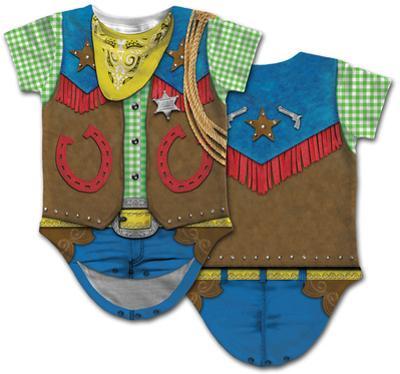 Infant: Cowboy Costume Romper