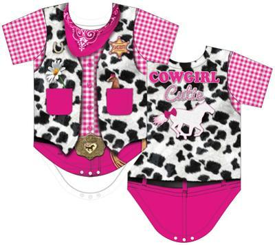 Infant: Cowgirl Costume Romper