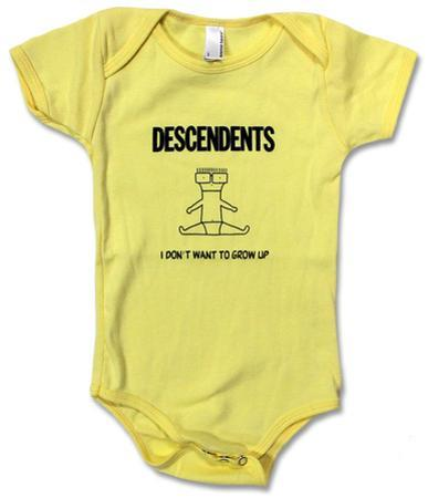 Infant: Descendents- I Don't Want To Grow Up Onesie