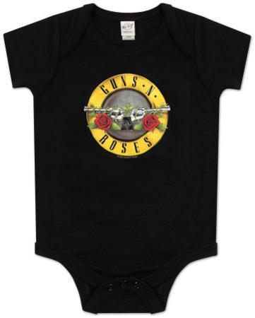 Infant: Guns N Roses - Bullet Logo Bodysuit