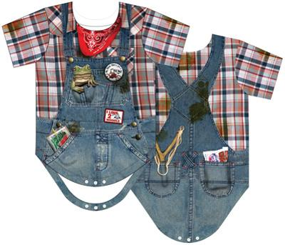 Infant: Hillbilly Costume Romper