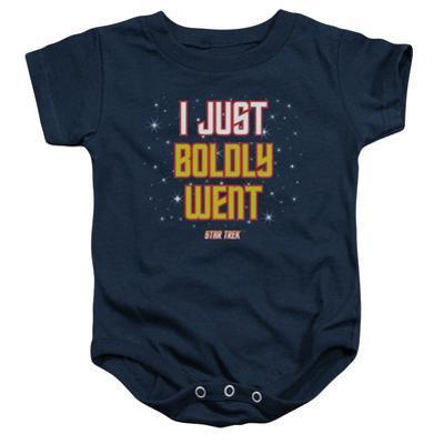 Infant: Star Trek- Boldly Went Onesie
