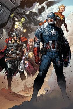 Infinity No. 6: Thor, Captain America, Hyperion, Hulk, Captain Marvel