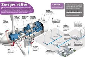 Infografía Sobre La Energía Eólica, Una De Las Energías Renovables Más Prometedoras