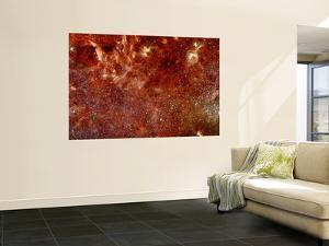 Infrared Image of the Center of the Milky Way Galaxy