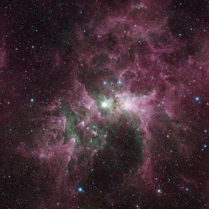 Infrared View of the Carina Nebula