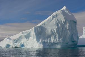 Antarctica. Gerlache Strait. Iceberg by Inger Hogstrom