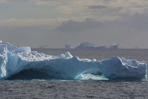 Antarctica. South of the Antarctic Circle. Iceberg by Inger Hogstrom