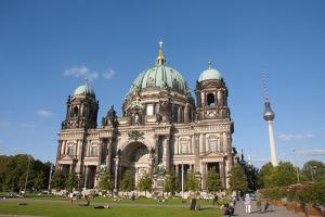 Berliner Dom, Berlin, Germany by Inger Hogstrom