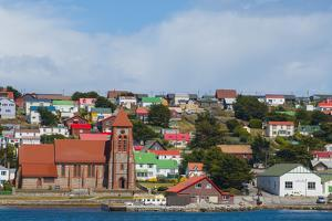 Falkland Islands. Stanley. View from the Water by Inger Hogstrom