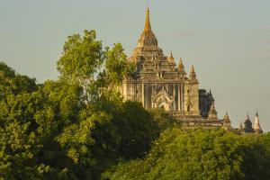 Myanmar. Bagan. Thatbyinnyu Temple by Inger Hogstrom