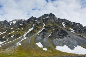 Norway. Svalbard. Bellsund. Varsolbukta. Camp Millar by Inger Hogstrom