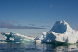 Norway. Svalbard. Hinlopenstretet Strait. Drift Ice by Inger Hogstrom