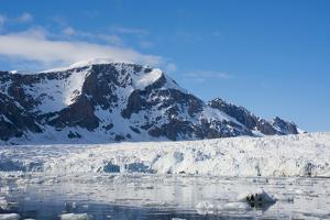 Norway. Svalbard. Hornsund. Burgerbutka. Paier Glacier by Inger Hogstrom