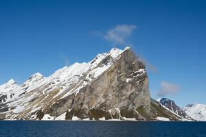 Norway. Svalbard. Hornsund. Granite Cliffs Surrounding by Inger Hogstrom
