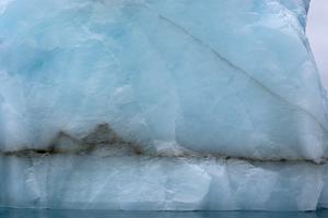 Norway. Svalbard. Nordaustlandet. Brasvelbreen. Textures of Icebergs by Inger Hogstrom