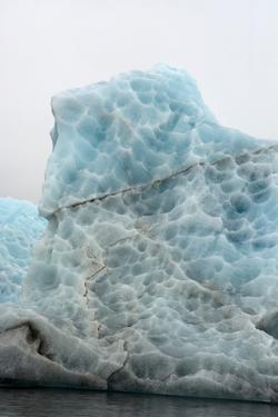 Norway. Svalbard. Spitsbergen. Hornsund. Brepollen. Icebergs Patterns by Inger Hogstrom