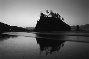 Sea Stacks, Second Beach, Olympic National Park, Washington, USA by Inger Hogstrom