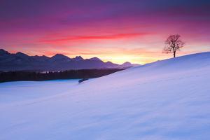 Ramtic Sunset in Bavaria, Germany by Ingmar Wesemann