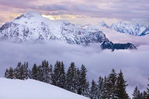 View from Mt Tegelberg into the Ammergauer Alps by Ingmar Wesemann