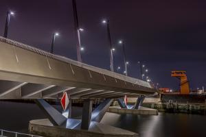 Germany, Hamburg, Harbour, Hafencity, Baakenhafen, BaakenhafenbrŸcke by Ingo Boelter