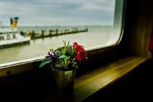 Germany, Schleswig-Holstein, Amrum, Ferry Connection, Ferry, View by Ingo Boelter