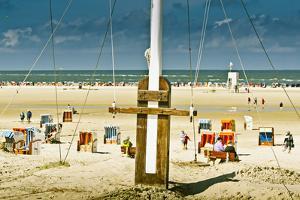 Germany, Schleswig-Holstein, Amrum, Norddorf, Beach by Ingo Boelter