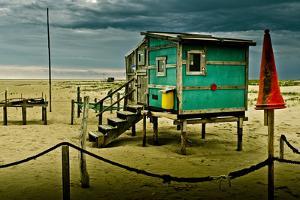 Germany, Schleswig-Holstein, Amrum, Sandy Beach, Sandbank, Kniepsand by Ingo Boelter