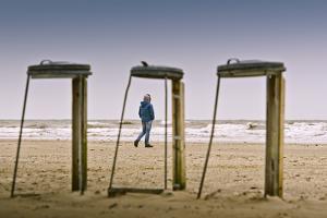 Germany, Schleswig-Holstein, Nordfriesland, Eiderstedt, Sankt Peter-Ording, Beach by Ingo Boelter