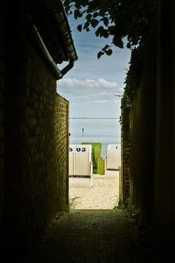 Germany, Schleswig-Holstein, Wyk, Sandy Beach, Bathing Beach by Ingo Boelter