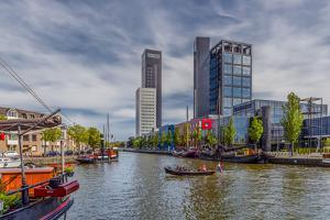 The Netherlands, Frisia, Leeuwarden, Harbour by Ingo Boelter