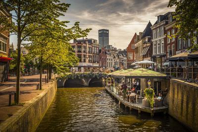 The Netherlands, Frisia, Leeuwarden, Harbour