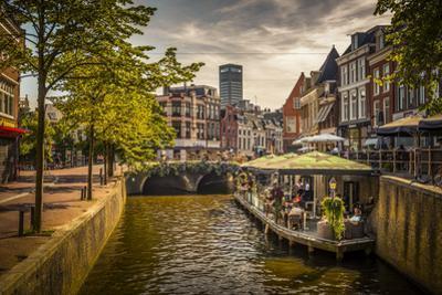 The Netherlands, Frisia, Leeuwarden, Harbour by Ingo Boelter