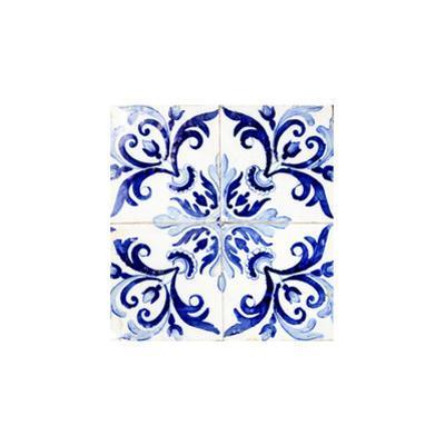 Azulejo Ii by Ingrid Beddoes