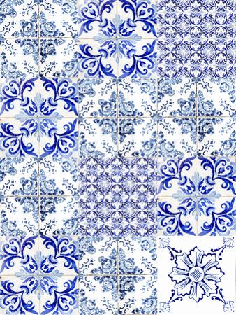 Azulejos Mix by Ingrid Beddoes