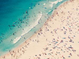 Beach Love Ii by Ingrid Beddoes