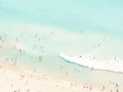 Beach Love Iii by Ingrid Beddoes