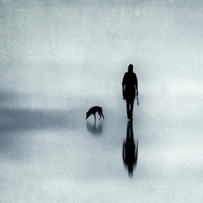 One Man And His Dog by Ingrid Beddoes