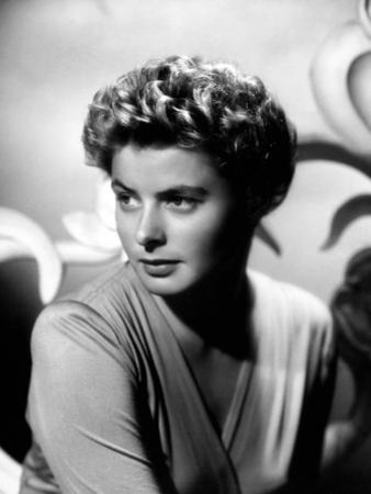"Ingrid Bergman. ""For Whom the Bell Tolls"" 1943, Directed by Sam Wood"